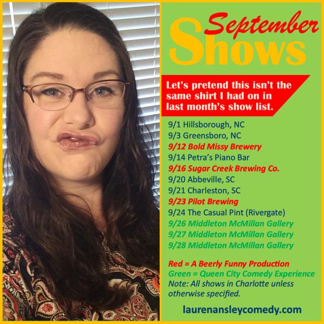 september shows promo