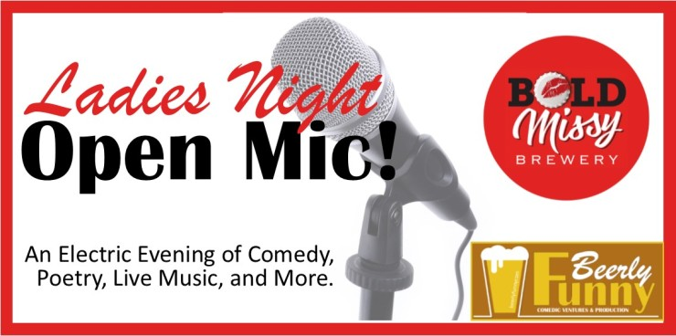 ladies night open mic image - for eventbriteD
